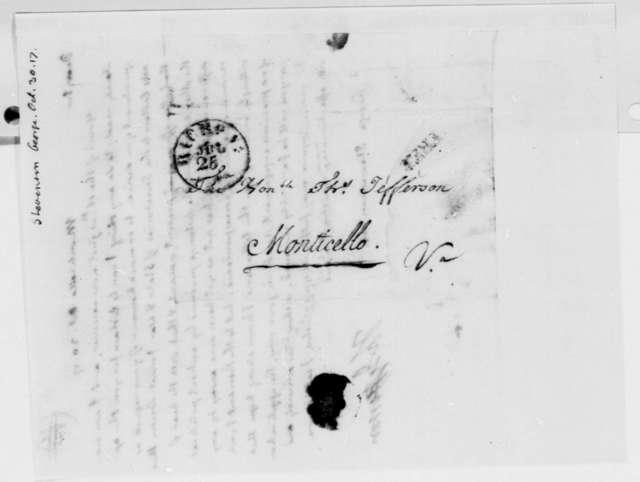 Thomas Jefferrson to George P. Stevenson, October 30, 1817