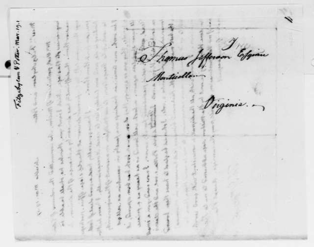 Thomas Jefferson to Fitzwhylson & Potter, March 19, 1817