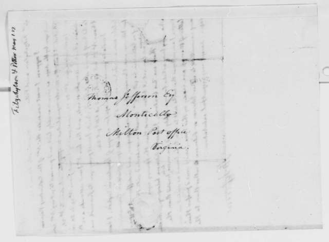 Thomas Jefferson to Fitzwhylson & Potter, May 1, 1817