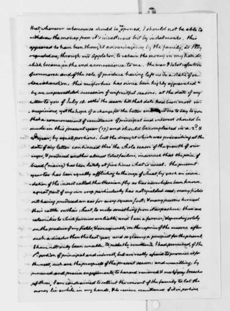 Thomas Jefferson to Giovanni Carmignani, August 19, 1817