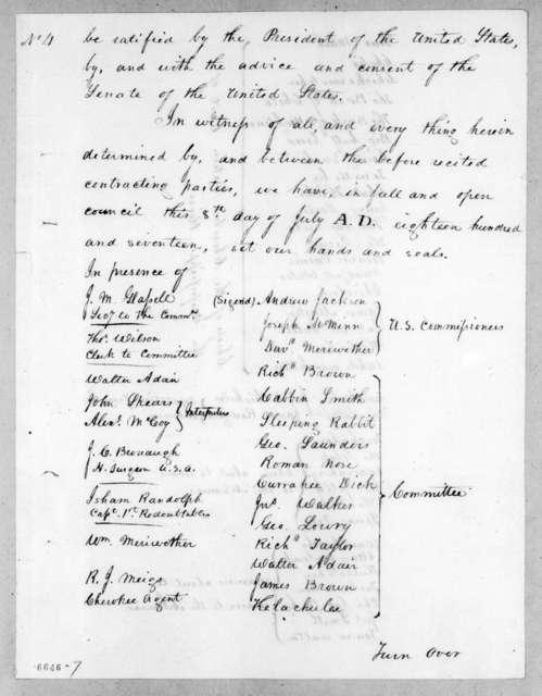 U. S. Commissioners, July 8, 1817