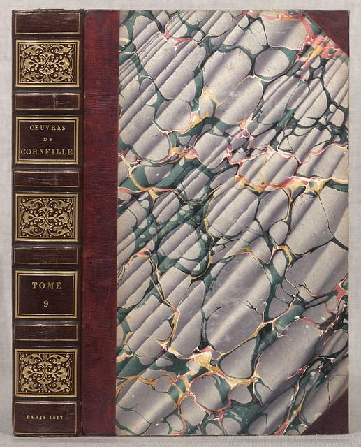 Œuvres de P. Corneille, avec les commentaires de Voltaire ...  Paris, A. A. Renouard, 1817.  12 v. fronts., plates, ports. 25 cm.
