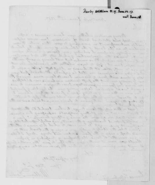 William Darby to Thomas Jefferson, June 12, 1817