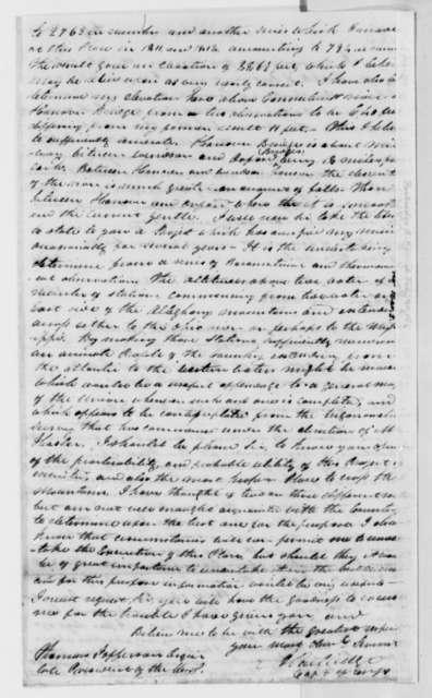 Alden Partridge to Thomas Jefferson, February 20, 1818