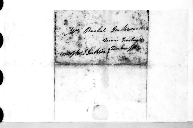 Andrew Jackson to Rachel Donelson Jackson, April 20, 1818