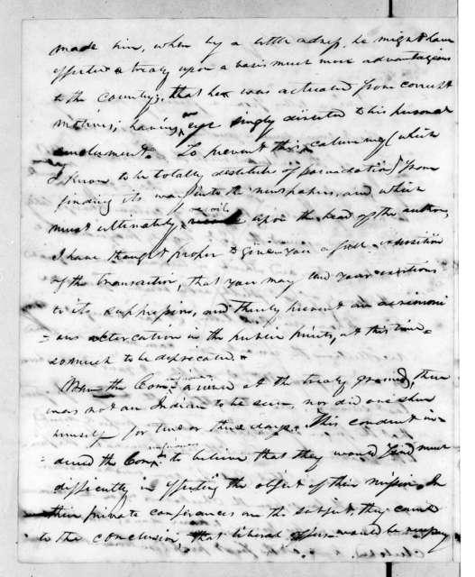 Benjamin T. Smith to Nathaniel P. Hart