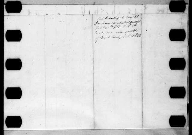 David Brearley to Andrew Jackson, February 20, 1818