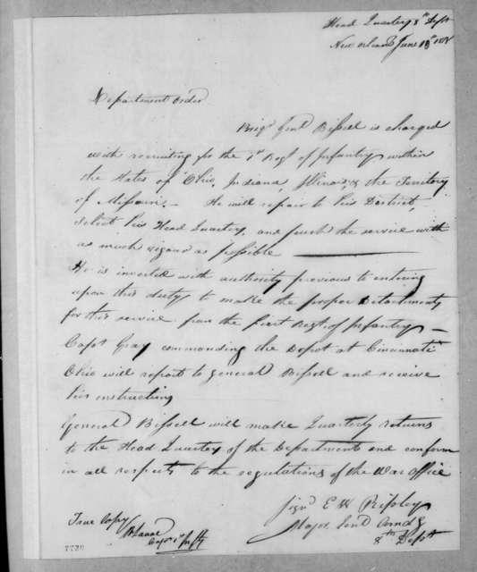Eleazar Wheelock Ripley, June 10, 1818