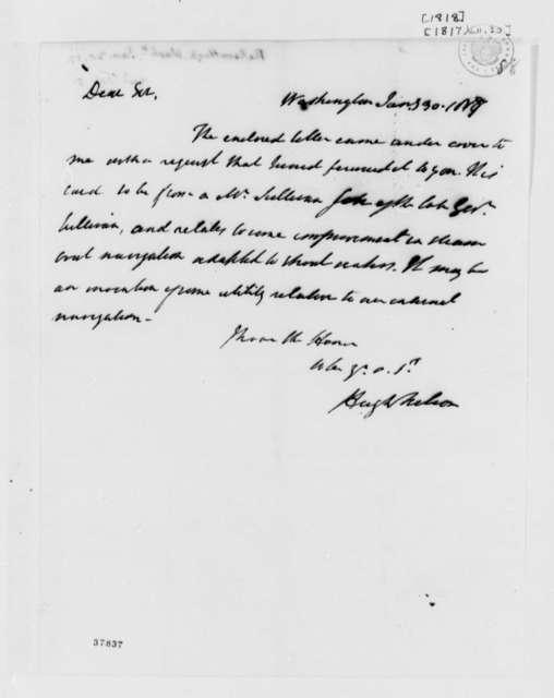 Hugh Nelson to Thomas Jefferson, January 30, 1818