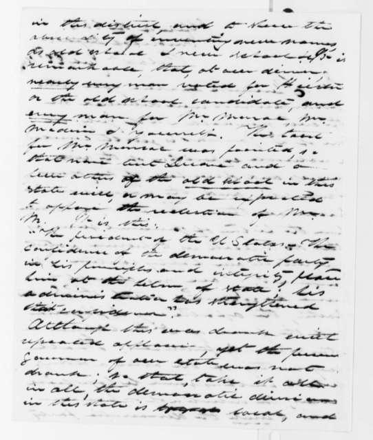 James Cutbush to Thomas Jefferson, July 22, 1818