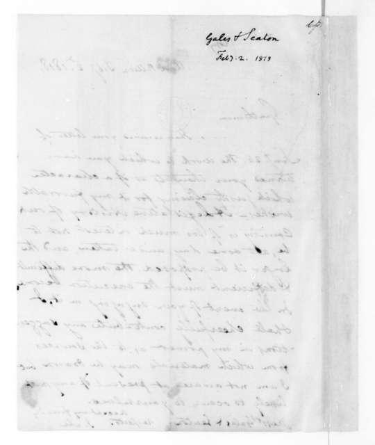 James Madison to Gales & Seaton, February 2, 1818.