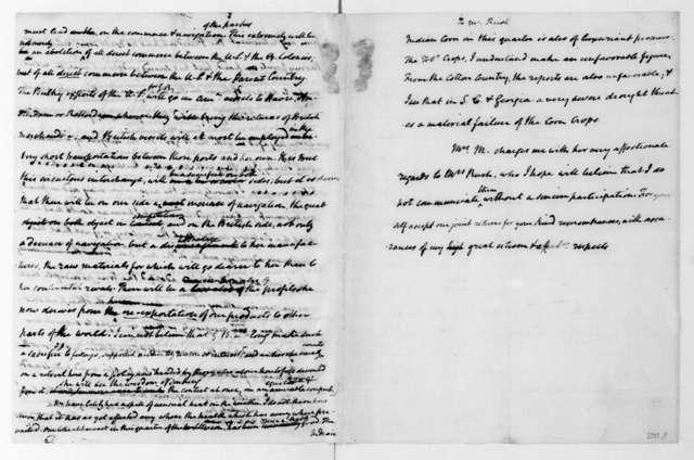James Madison to Richard Rush, July 24, 1818.