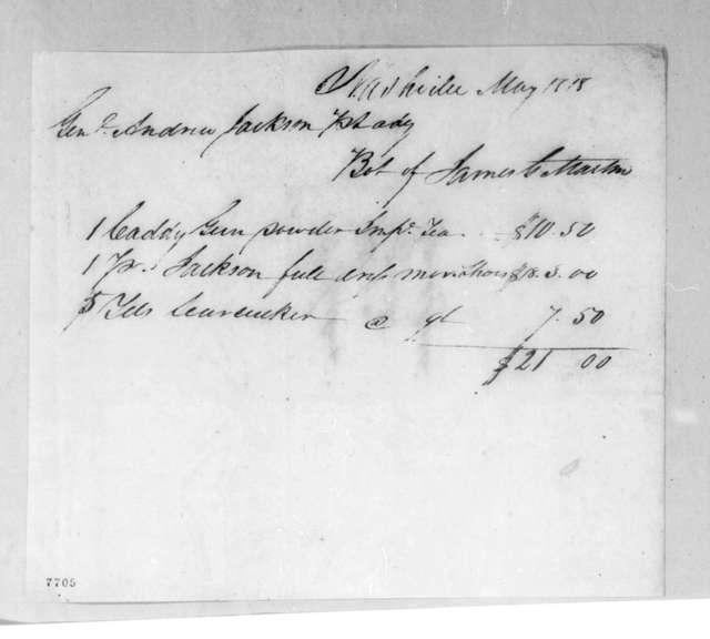 James Martin to Andrew Jackson