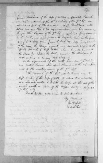 James McMillan Glassell, June 25, 1818
