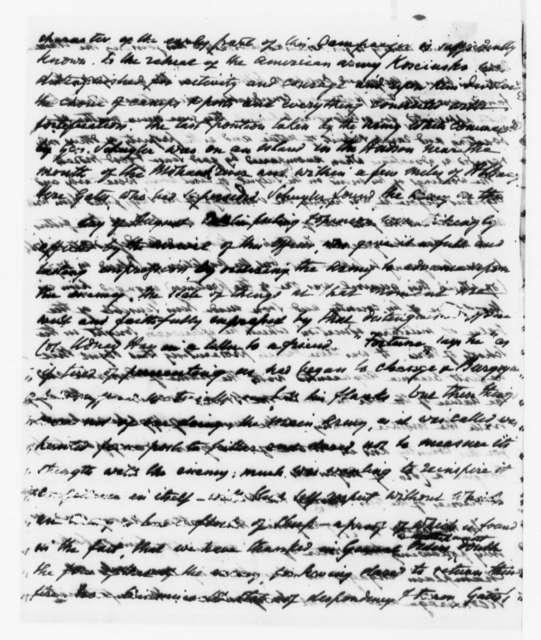 John Armstrong, July 1, 1818, Kosciuszko Biography