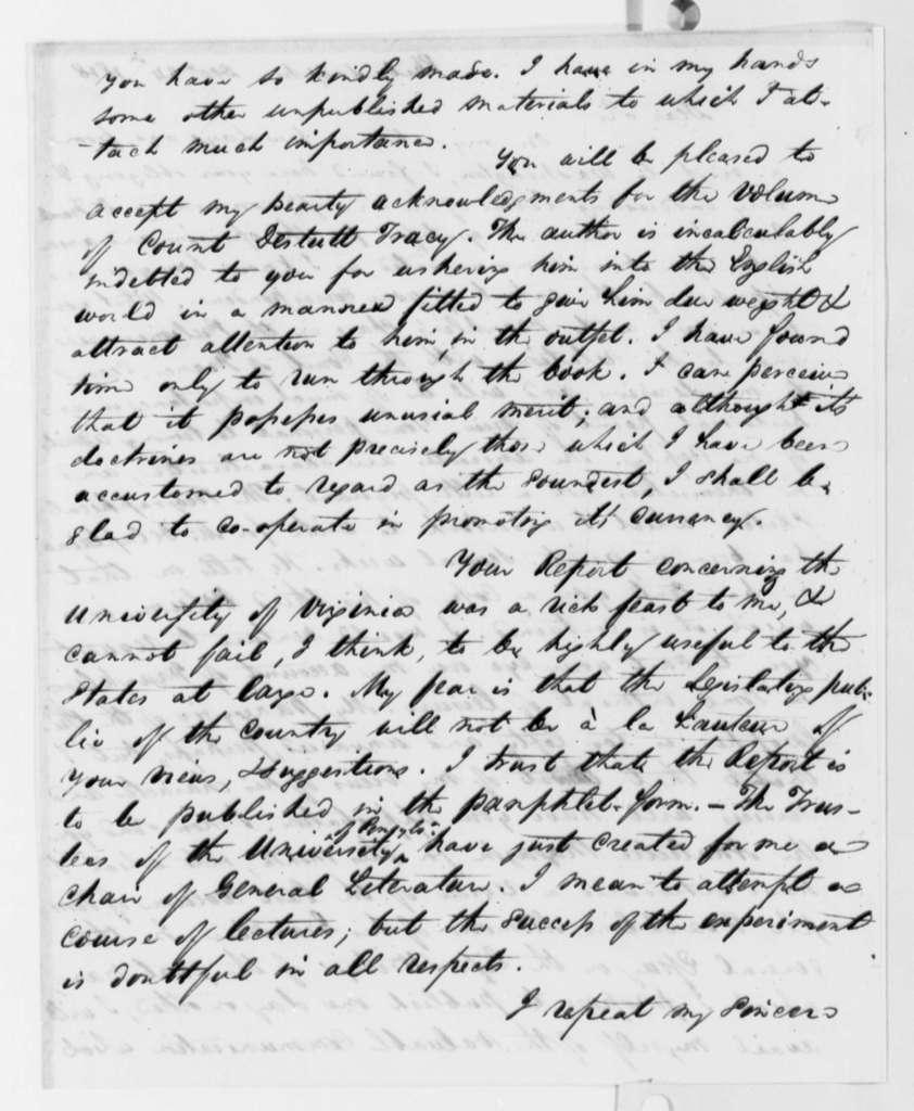 Robert Walsh, Jr. to Thomas Jefferson, December 24, 1818
