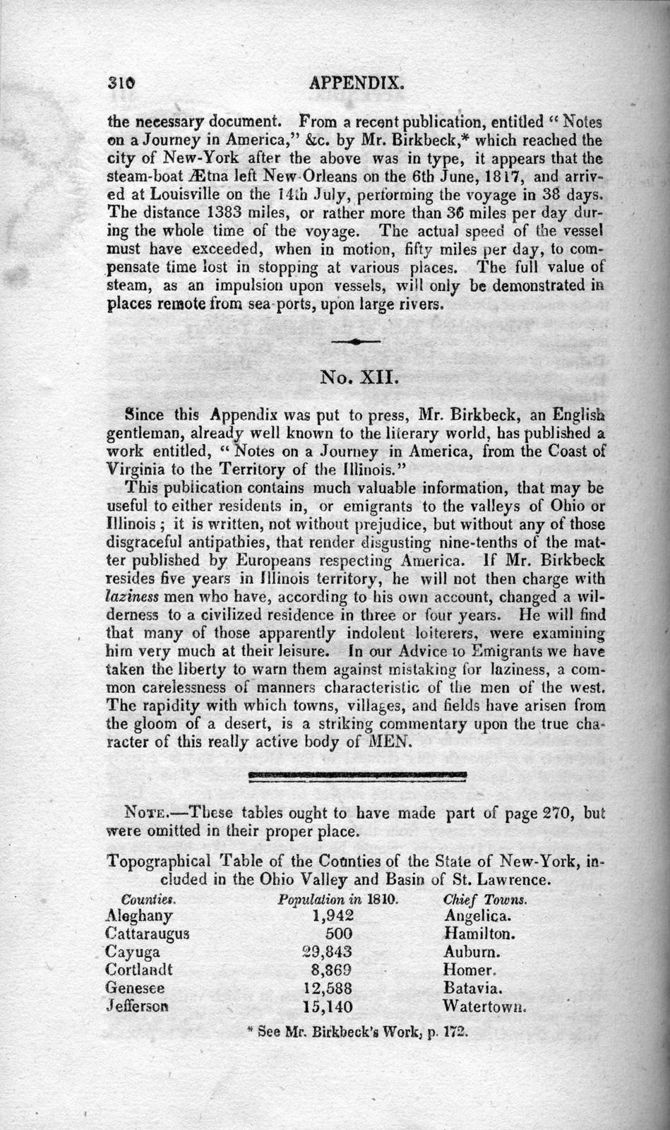 The emigrant's guide to the western and southwestern states and territories : comprising a geographical and statistical description of the states ; Louisiana, Mississippi, Tennessee, Kentucky, and Ohio ; the territories of Alabama, Missouri, and Michigan ; and the western parts of Virginia, Pennsylvania, and New-York ; with a complete list of the road and river routes, west of the Allegheny Mountains, and the connecting roads from New-York, Philadelphia, and Washington City, to New-Orleans, St. Louis, and Pittsburg ; The whole comprising a more comprehensive account of the soil, productions, climate, and present state of improvement of the regions described, than any work hitherto published; accompanied by a map of the United States, including Louisiana, projected and engraved expressly for this work
