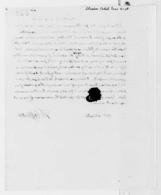 Thomas Jefferson to Caleb Atwater, June 21, 1818