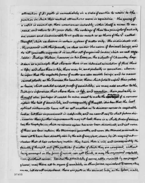 Thomas Jefferson to Francis A. van der Kemp, February 9, 1818