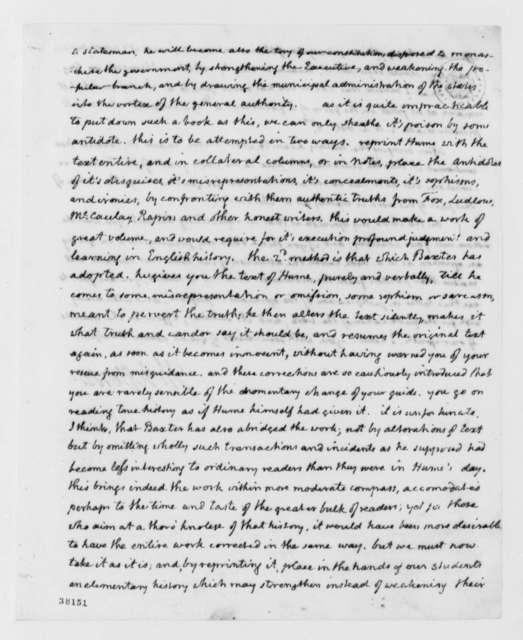 Thomas Jefferson to Matthew Carey, November 22, 1818