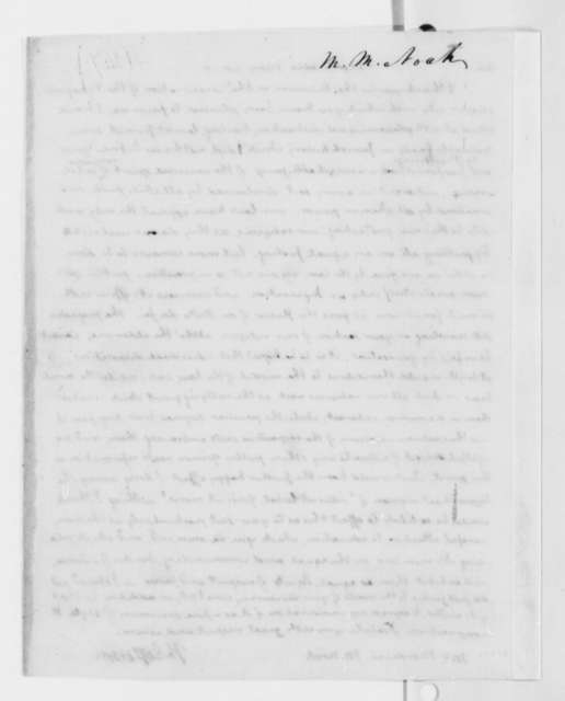 Thomas Jefferson to Mordecai M. Noah, May 28, 1818
