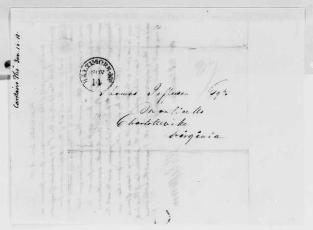 Thomas Jefferson to Thomas Carstairs, January 16, 1818