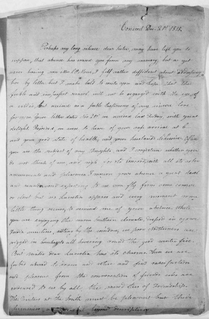 Unbound letters---1818