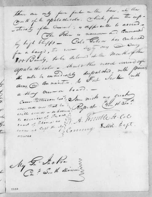 William Allen Trimble to Andrew Jackson, February 12, 1818