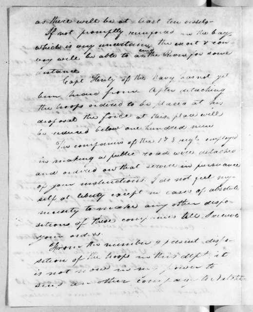 William Allen Trimble to Andrew Jackson, February 4, 1818