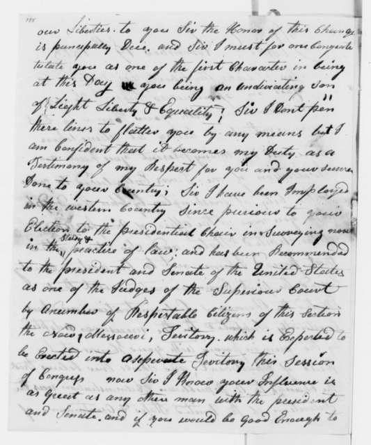 William Craig to Thomas Jefferson, November 19, 1818