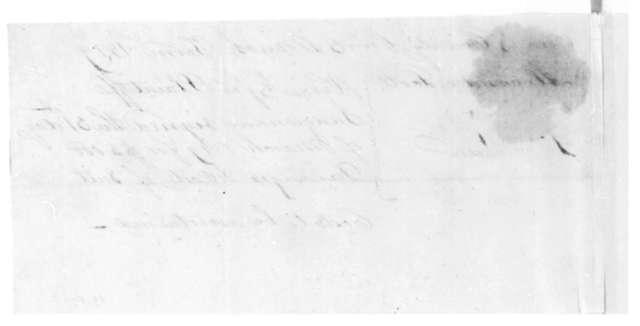 Alexander Scott to James Madison, April 7, 1819.