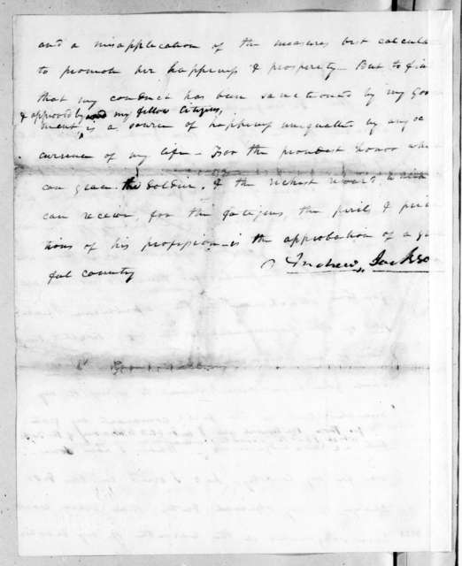 Andrew Jackson to Common Council of the City of New York