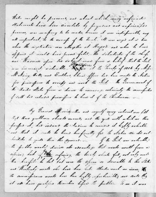 Andrew Jackson to Joseph McMinn, August 20, 1819