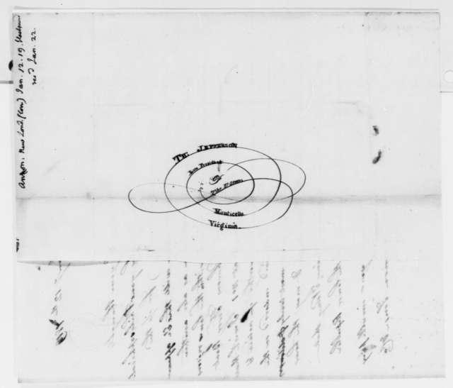 Anonymous to Thomas Jefferson, January 12, 1819, Signed Common Sense & Co.
