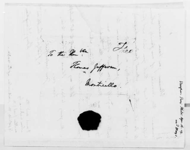 Benjamin Vaughan to Thomas Jefferson, April 16, 1819