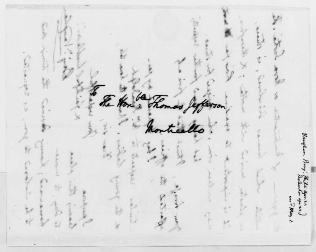 Benjamin Vaughan to Thomas Jefferson, April 21, 1819