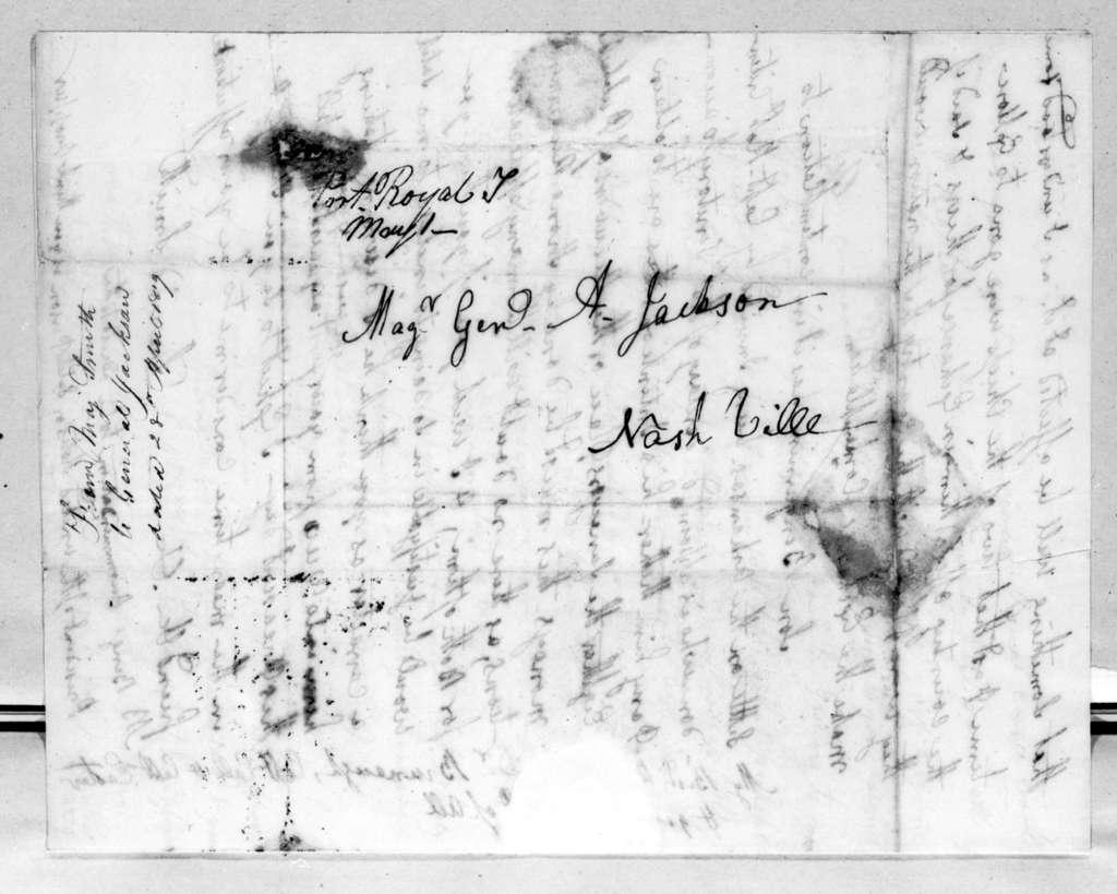 David Smith to Andrew Jackson, April 28, 1819