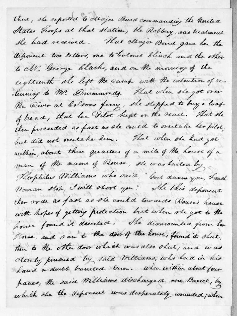 Duncan Lamont Clinch to Joseph Coppinger, September 13, 1819