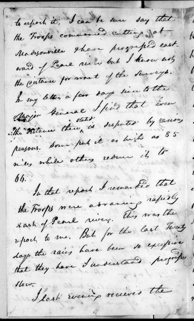 Eleazar Wheelock Ripley to Robert Butler, August 20, 1819