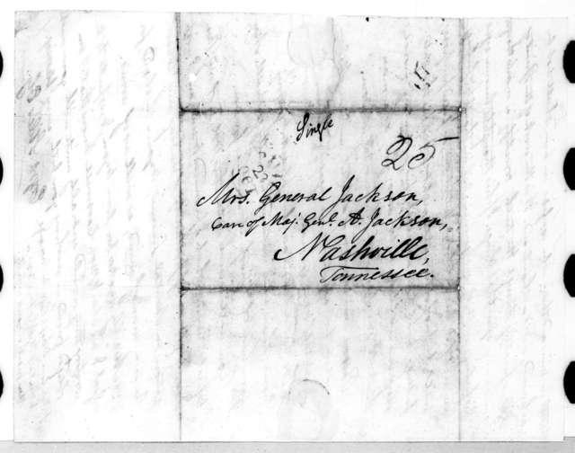 Ezra Stiles Ely to Rachel Donelson Jackson, October 22, 1819
