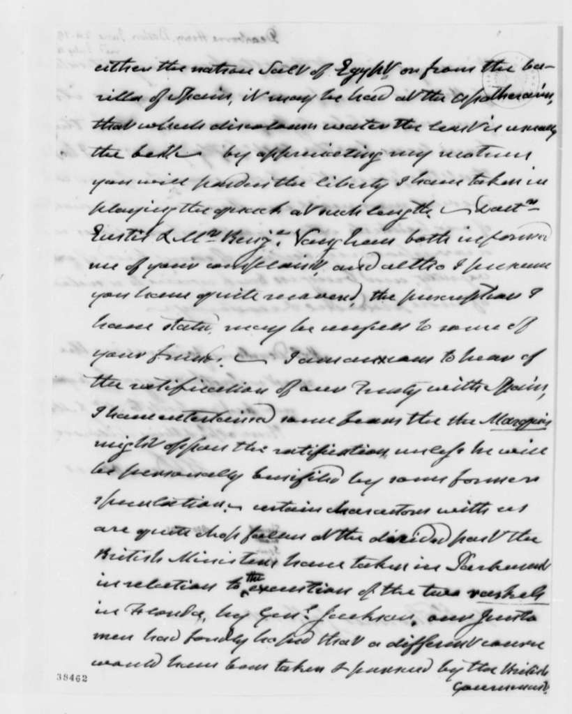 Henry Dearborn to Thomas Jefferson, June 24, 1819