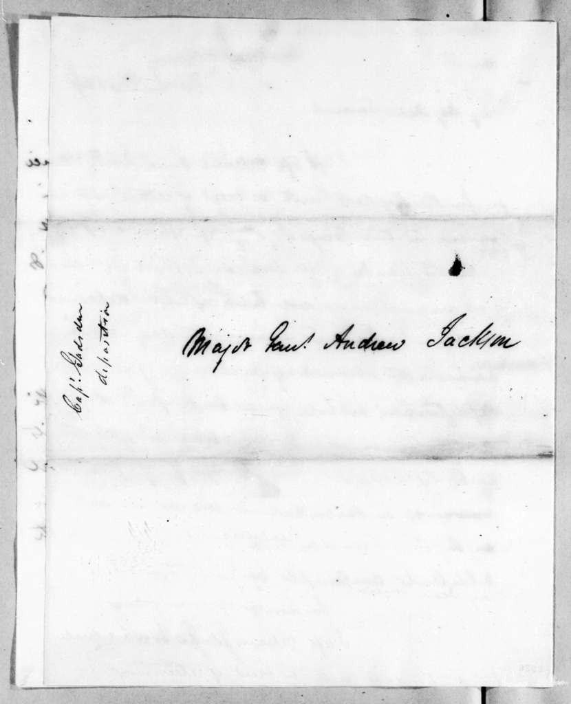 James Gadsden to Andrew Jackson, June 26, 1819