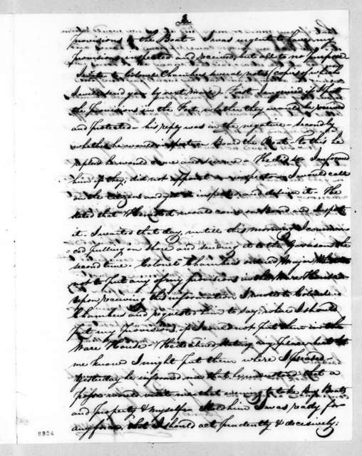James Johnson to Richard Mentor Johnson, May 23, 1819