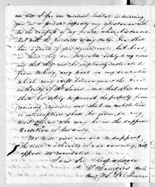 James Johnson to Richard Mentor Johnson, September 20, 1819