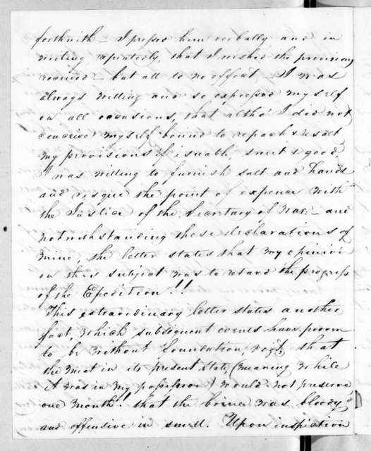 James Johnson to Richard Mentor Johnson, September 20, 1819