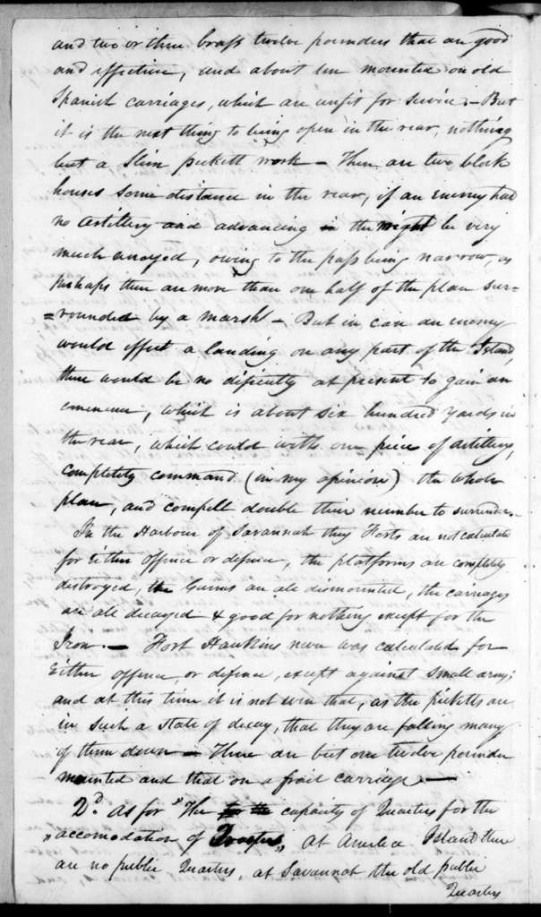 John M. Davis to Arthur Peronneau Hayne, April 4, 1819