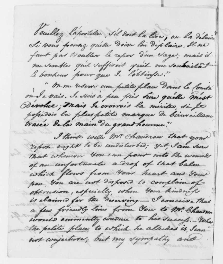 Louis H. Girardin to Thomas Jefferson, February 20, 1819