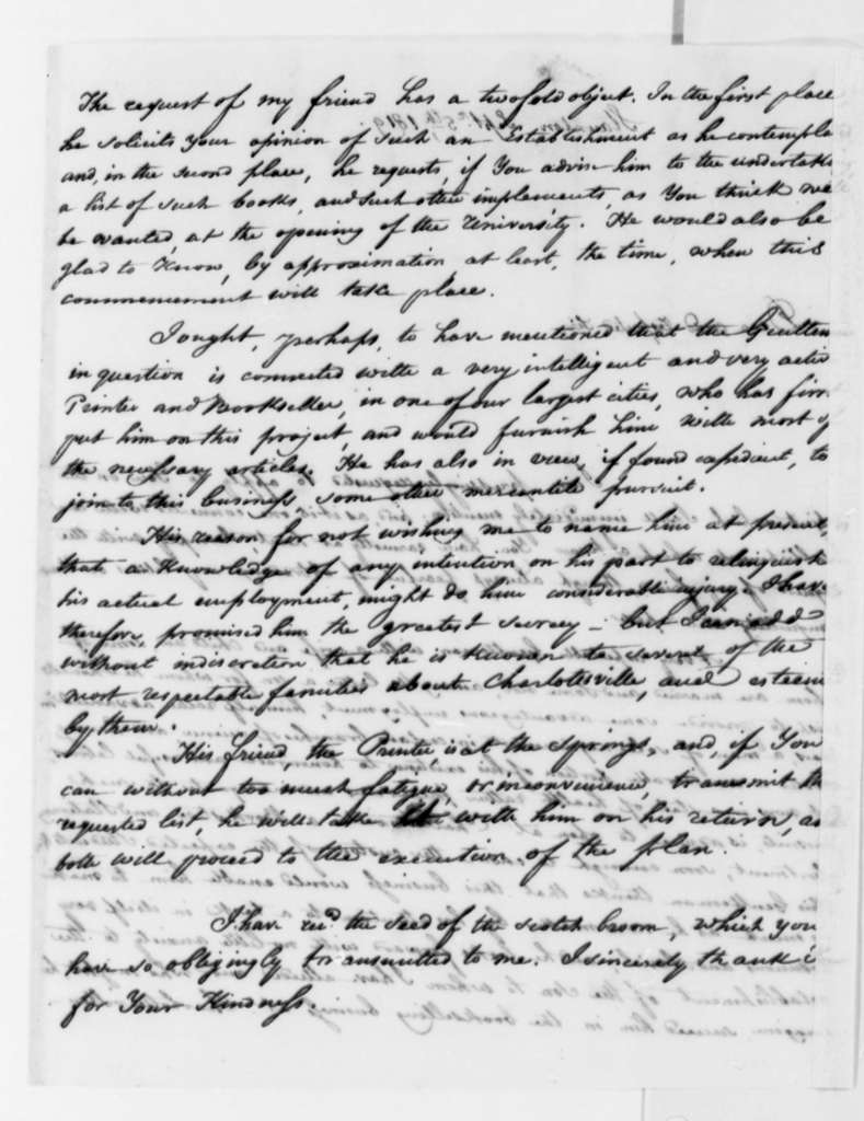 Louis H. Girardin to Thomas Jefferson, September 5, 1819