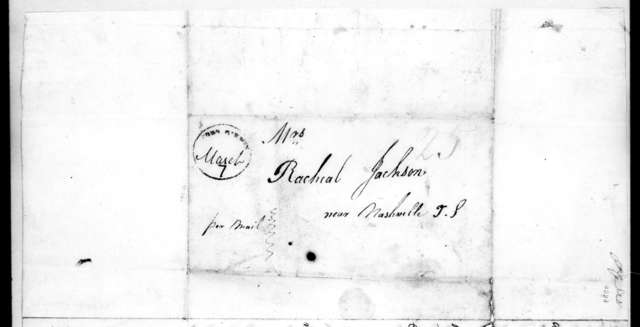 Mary Donelson Caffery to Rachel Donelson Jackson, March 3, 1819