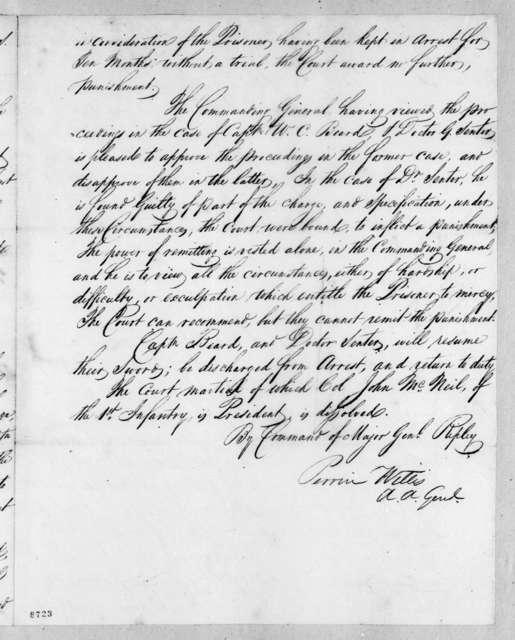 Perrin Willis, April 14, 1819